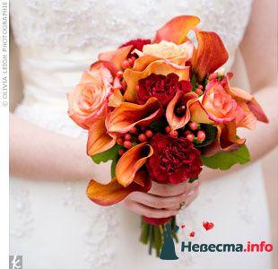 Фото 90191 в коллекции Букет невесты, подружек, и бутоньерка жениха! - Невеста Настенька