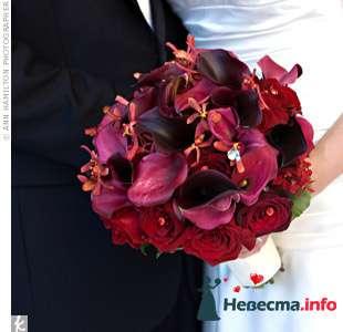 Фото 90200 в коллекции Букет невесты, подружек, и бутоньерка жениха! - Невеста Настенька