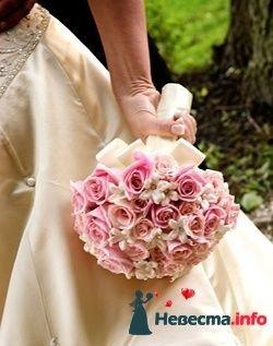 Фото 90259 в коллекции Букет невесты, подружек, и бутоньерка жениха! - Невеста Настенька