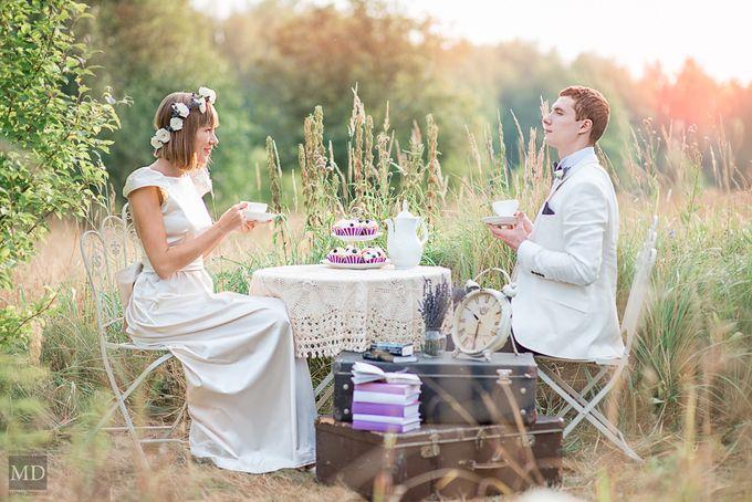 Лавандовая свадьба Анечки и Стаса