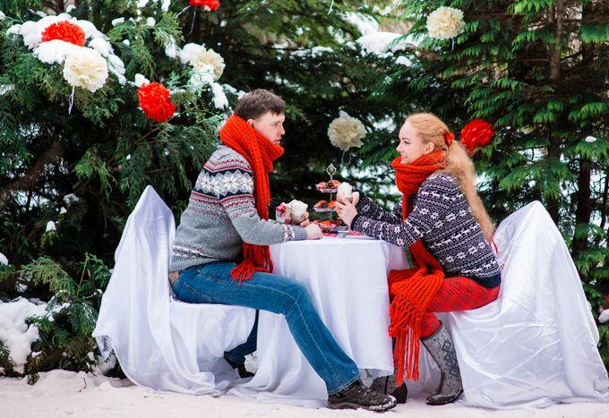 зимняя love story  в Ботаническом саду, декорированная фотосессия, романтика зимней фотосессии