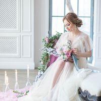 Утро невесты, сборы невесты, нежное утро невесты, сборы в студии,