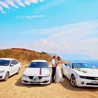 """Кабриолет """"Chevrolet Camaro"""" на свадьбу в Севастополе,кабриолет """"Chevrolet Camaro"""" на свадьбу в Ялте,кабриолет """"Chevrolet Camaro"""" на свадьбу в Евпатории"""