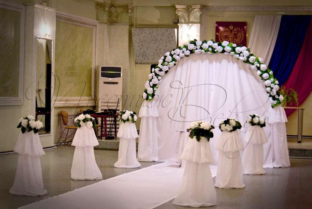 выездная регистрация  - фото 1951157 Студия свадебного дизайна Престиж Декор