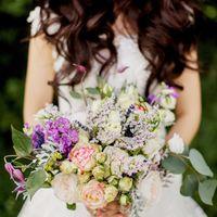 букет невесты, прованс