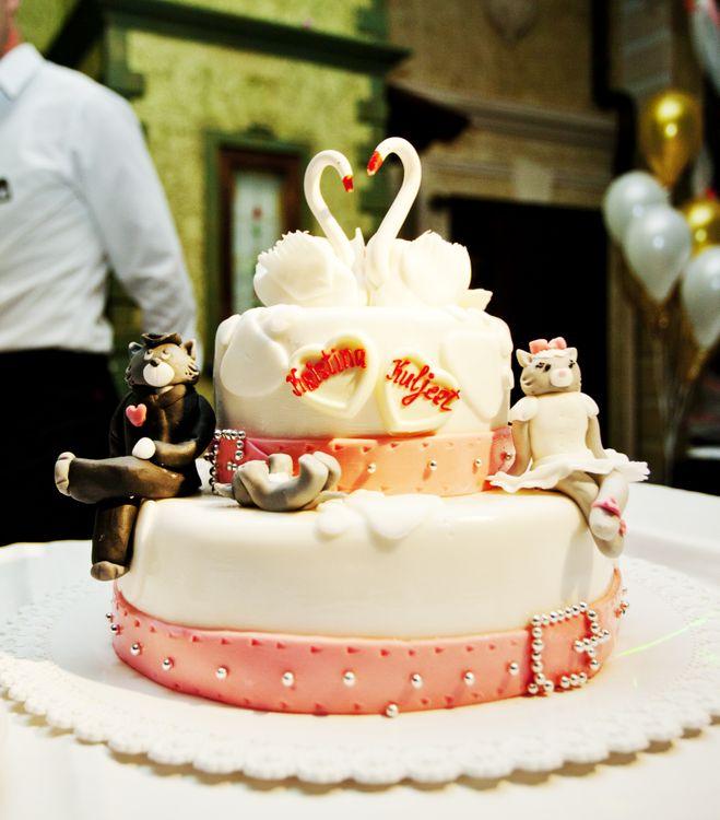 Свадебные торты 2012 с фото