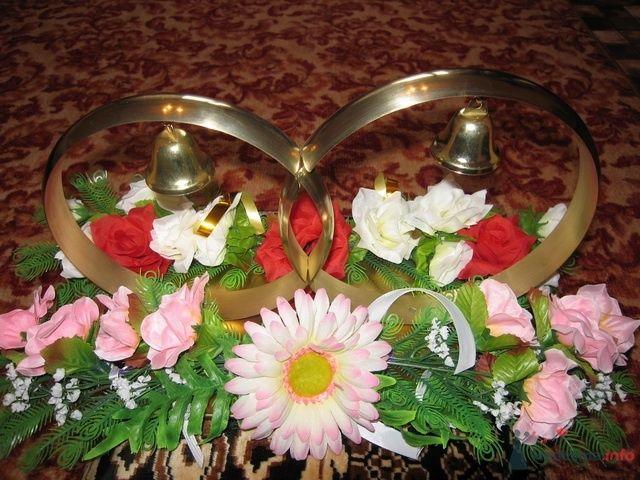 Кольца (4000 руб.)  - фото 67051 Украшения на свадебные авто