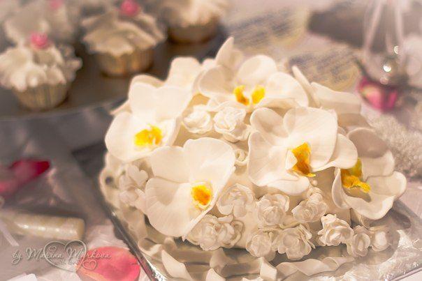 Фото 2205400 в коллекции Мои фотографии - Свадебные торты от Наталии Аржаковой