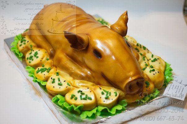 Вот как это ни странно,но!!! Это тоже свадебный торт. Так захотели молодожены. :) - фото 3623509 Свадебные торты от Наталии Аржаковой