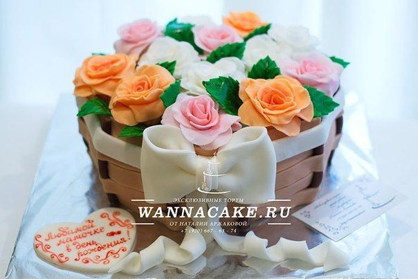 Фото 4716993 в коллекции Портфолио - Свадебные торты от Наталии Аржаковой