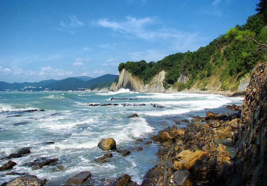 первая туапсе фото моря пляжа очень личный