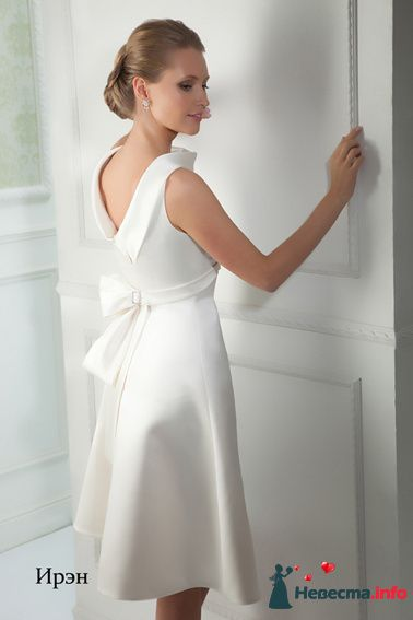 Платье (вид сзади) - фото 108283 Sweet-lana