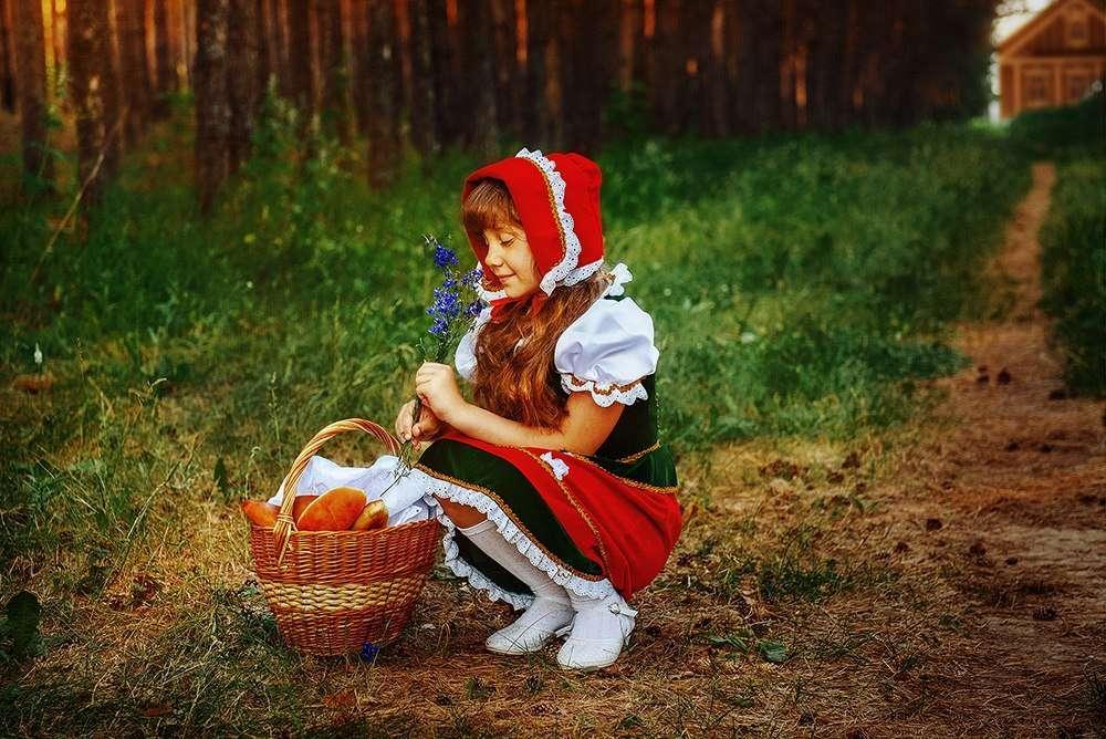 Картинки про красную шапочку для детей