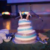 самый веселый свадебный торт