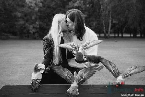 Фото 10510 в коллекции Love-Story: Любовь и голуби - Свадебные фотоистории от Андрея Егорова