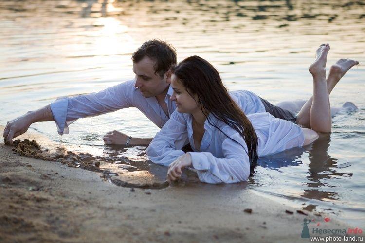 Фото 66739 в коллекции Пляжная лавстори Леры и Димы - Свадебные фотоистории от Андрея Егорова