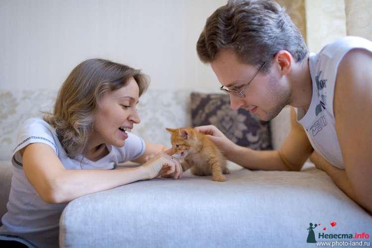 Домашнее фото - фото 89207 Свадебные фотоистории от Андрея Егорова
