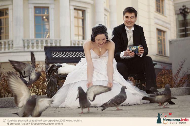 Свадебная прогулка по улочкам Москвы - фото 91231 Свадебные фотоистории от Андрея Егорова