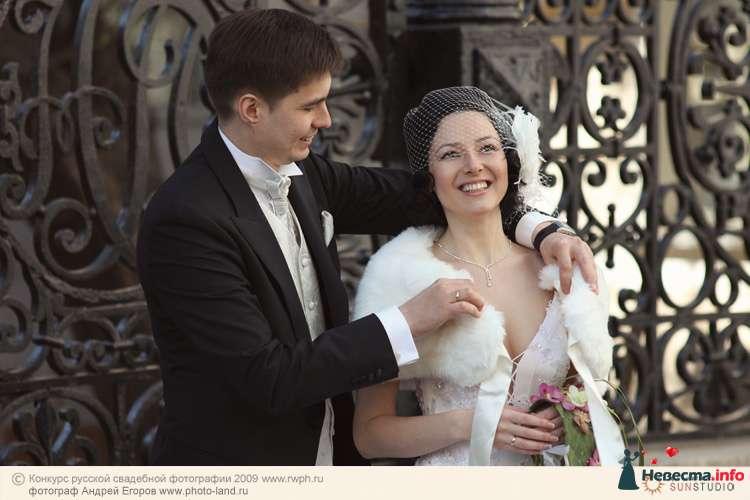 Свадебная прогулка по улочкам Москвы - фото 91280 Свадебные фотоистории от Андрея Егорова