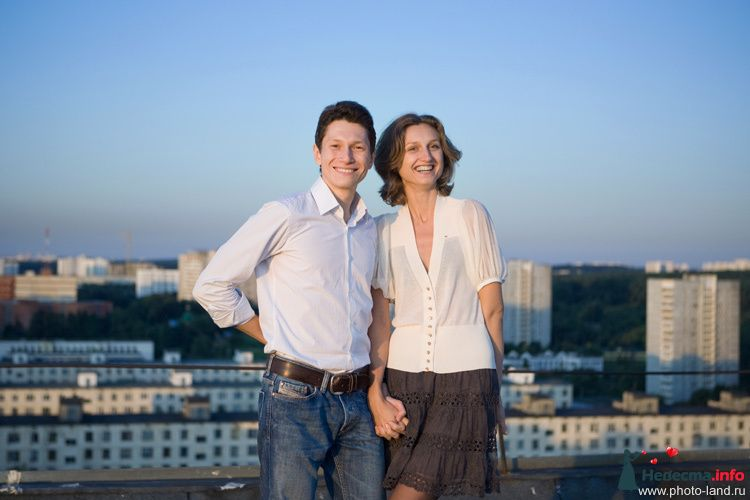 Love Story на крыше - фото 94845 Свадебные фотоистории от Андрея Егорова
