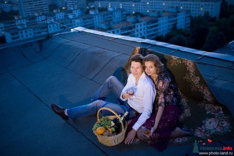 Love Story на крыше - фото 95250 Свадебные фотоистории от Андрея Егорова