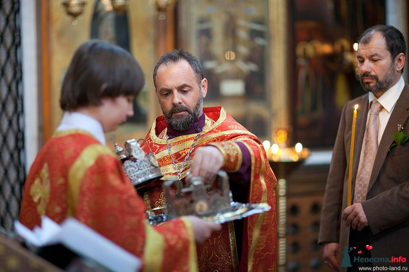 Венчание. Москва  - фото 96468 Свадебные фотоистории от Андрея Егорова