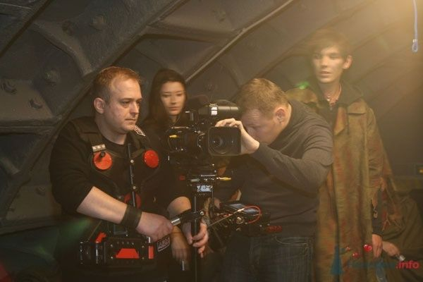 "На съемках клипа ""Метро 2033"". Сергей Жуков. - фото 69659 Студия Centre Film"