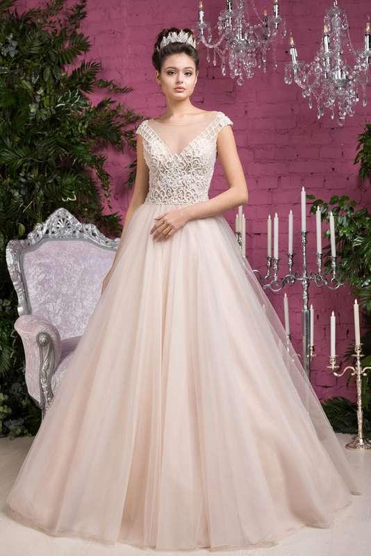 """Фото 17103506 в коллекции Свадебные платья в наличии - Салон свадебной и вечерней моды """"Barsonini"""""""