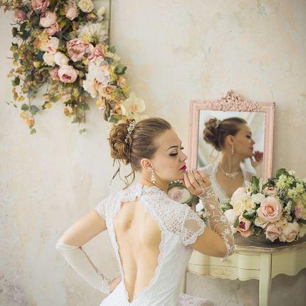 Свадебный макияж + прическа, выезд на дом