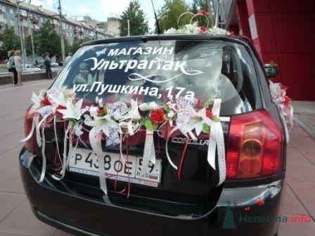 """Фото 72248 в коллекции оформление свадебных автомобилей - """"Дом праздника"""" - свадебное оформление"""