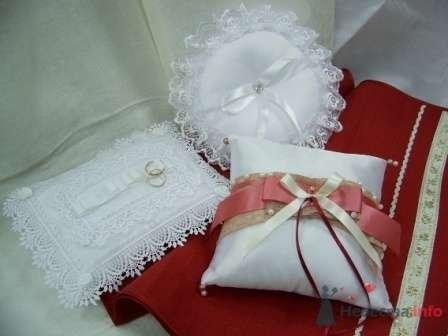 """Фото 72275 в коллекции подушечки для колец - """"Дом праздника"""" - свадебное оформление"""