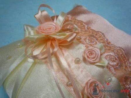 """Фото 72280 в коллекции подушечки для колец - """"Дом праздника"""" - свадебное оформление"""