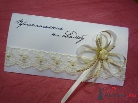 """Фото 72314 в коллекции свадебные приглашения и конверты ручной работы - """"Дом праздника"""" - свадебное оформление"""