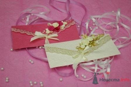 """Фото 72315 в коллекции свадебные приглашения и конверты ручной работы - """"Дом праздника"""" - свадебное оформление"""