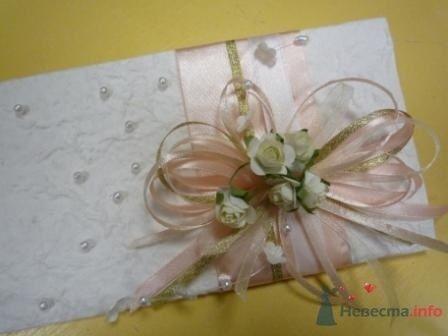 """Фото 72317 в коллекции свадебные приглашения и конверты ручной работы - """"Дом праздника"""" - свадебное оформление"""
