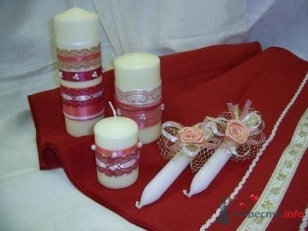 """Фото 72328 в коллекции свадебные свечи - """"Дом праздника"""" - свадебное оформление"""