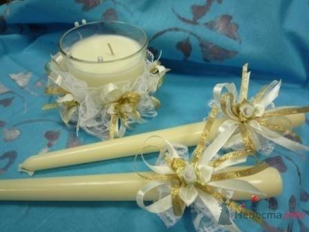 """Фото 72522 в коллекции свадебные свечи - """"Дом праздника"""" - свадебное оформление"""