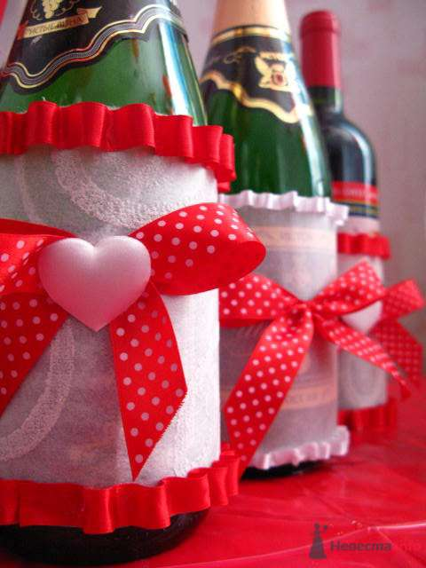"""Фото 72632 в коллекции свадебные бокалы и шампанское - """"Дом праздника"""" - свадебное оформление"""