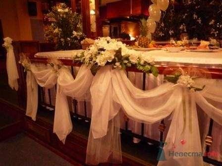 """Фото 72634 в коллекции оформление свадебных залов - """"Дом праздника"""" - свадебное оформление"""