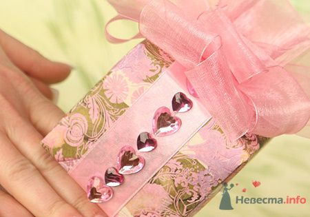"""Фото 72658 в коллекции упаковка подарков - """"Дом праздника"""" - свадебное оформление"""