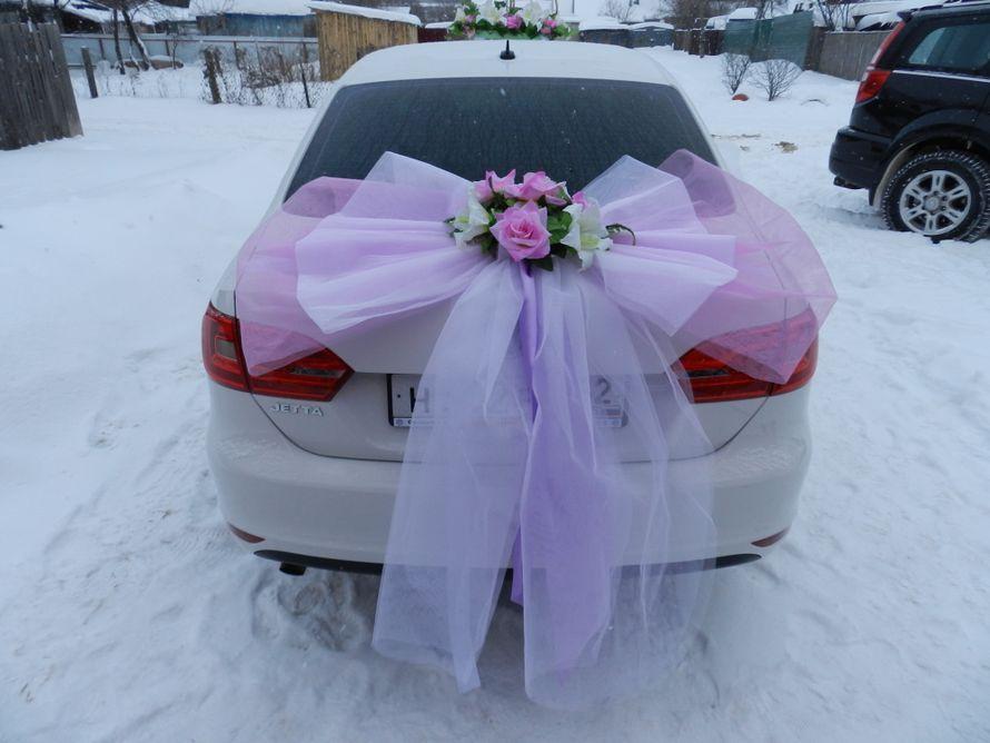 Бант на свадебные машины