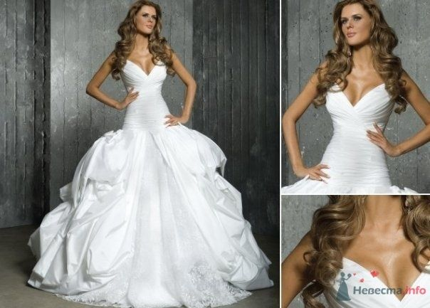 Фото 77892 в коллекции Свадебные платья - Нютка