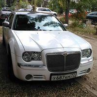 крайслер белый седан 1500 руб час
