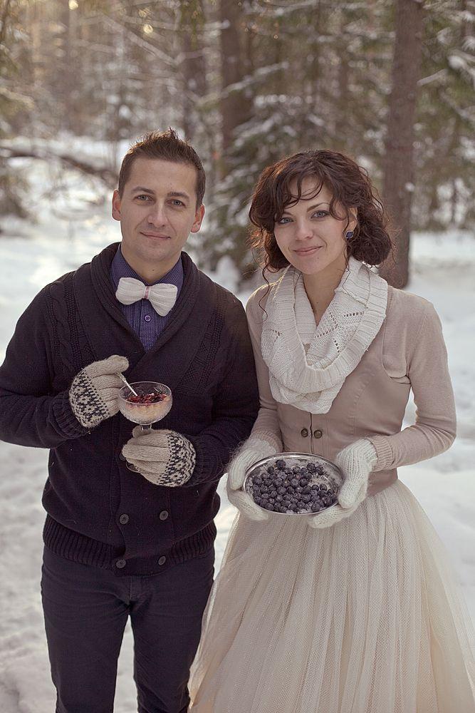 Фото 1934375 в коллекции Зимняя LoveStory Анастасии и Дмитрия - Свадебный фотограф Анна Алфёрова