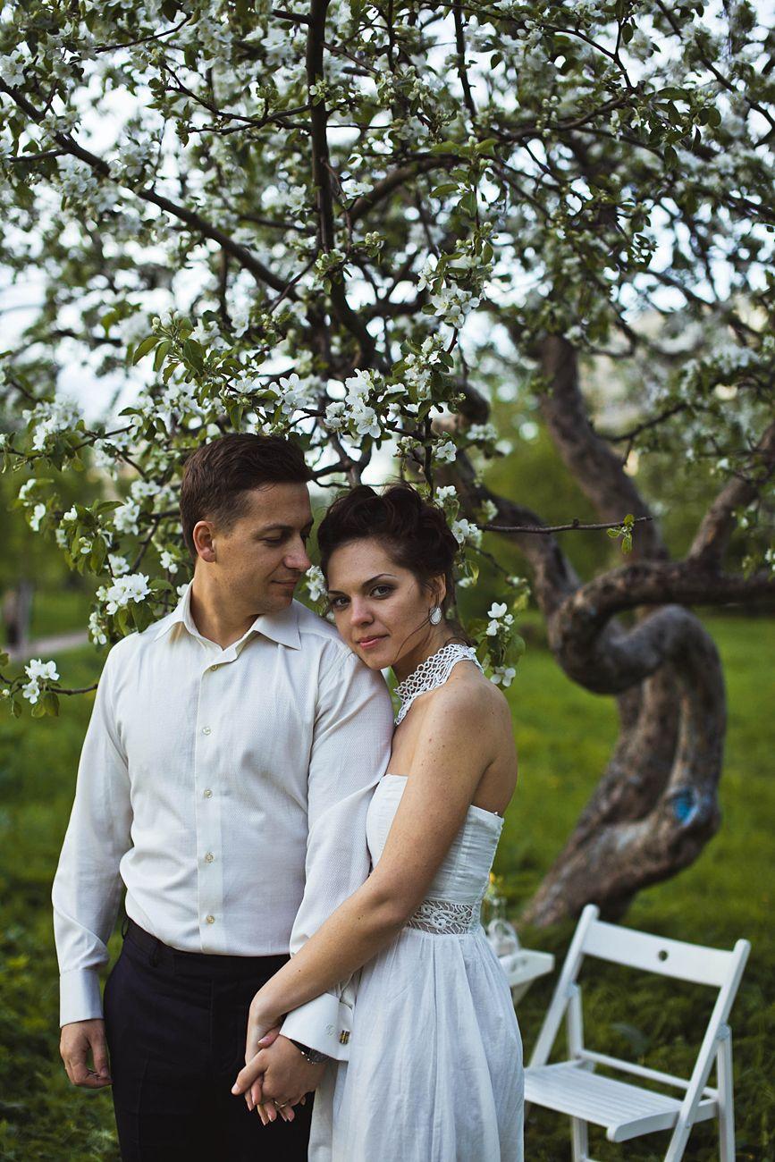 Фото 1934875 в коллекции Весенняя LoveStory в яблоневом саду - Свадебный фотограф Анна Алфёрова