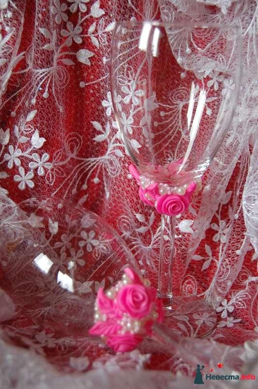 Фото 90828 в коллекции Свадебные бокалы с ручной лепкой!!! - Невеста01