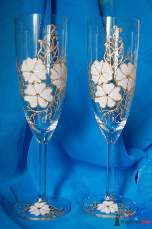 Фото 99879 в коллекции свадебные бокалы!!!!! - Невеста01