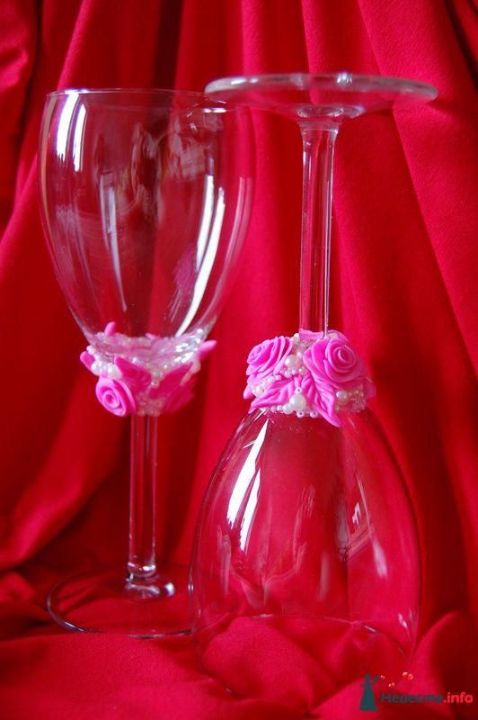 Фото 107116 в коллекции Свадебные бокалы - Невеста01