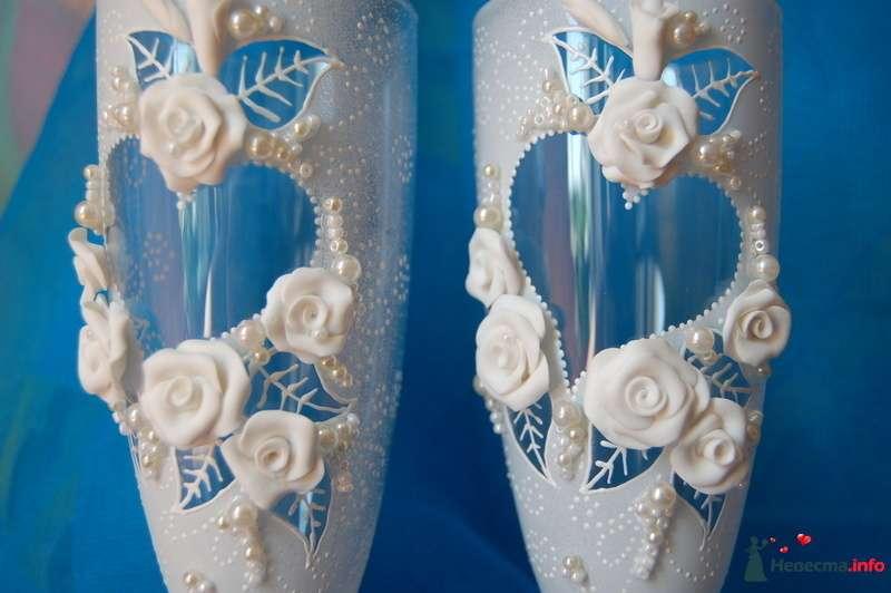 Фото 112741 в коллекции Свадебные бокалы!!!! - Невеста01