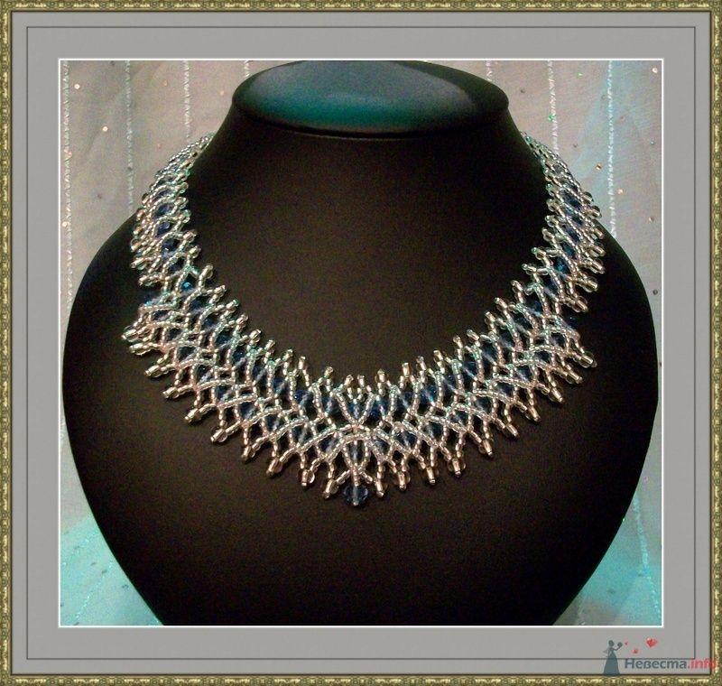 Ожерелье из бисера и бусин Чехия - фото 79281 Невеста01